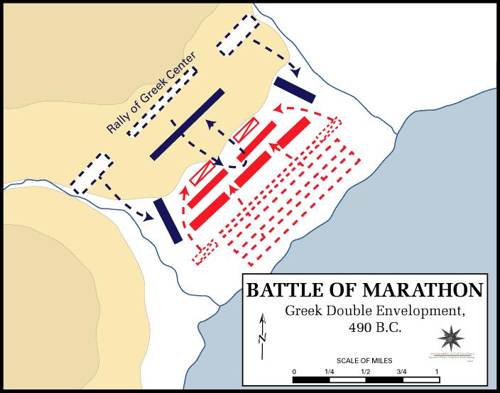 Bătălia de Marathon (460 î.H.). O mare victorie a grecilor sau numai un șiretlic al perșilor?