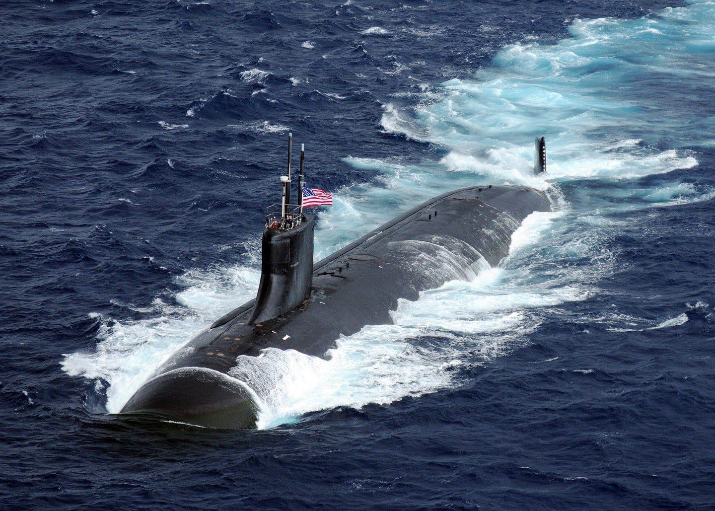 """Un submarin nuclear al SUA s-a lovit de """"un obiect neidentificat"""" în Marea Chinei de Sud – 60m.ro"""