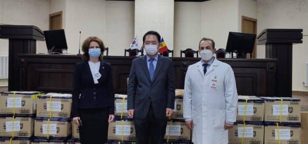 Coreea de Sud, donație de echipamente medicale pentru Republica Moldova ~ InfoPrut